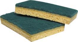 Eponge plus tampon abrasif